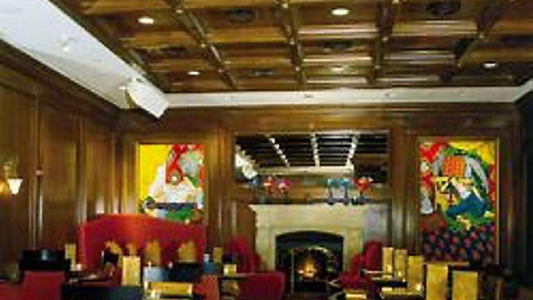 Interior of Rein restaurant at the Garden City