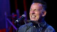 Bruce Springsteen, seen here at The Theater at