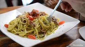 Starring Italian-American and Italian specialties, Cena 081 sends
