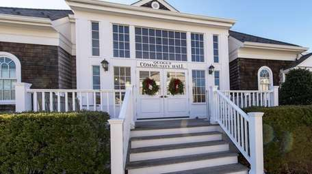 Quogue Community Hall in December 2015.