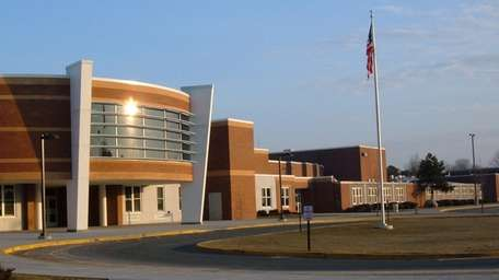 An undated file photo of Connetquot High School.