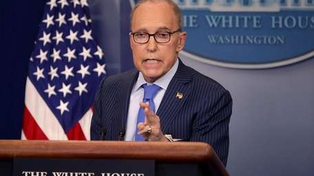White House National Economic Council Director Larry Kudlow