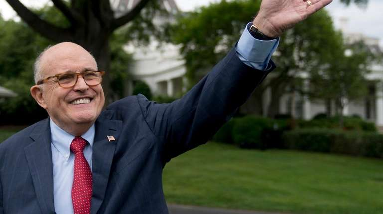Rudy Giuliani, an attorney for President Donald Trump,