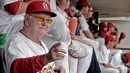 Then-Cardinals special assistant to the GM Red Schoendienst