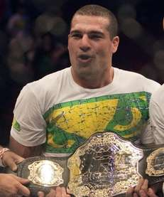 "Mauricio ""Shogun"" Rua, from Brazil, holds the belt"