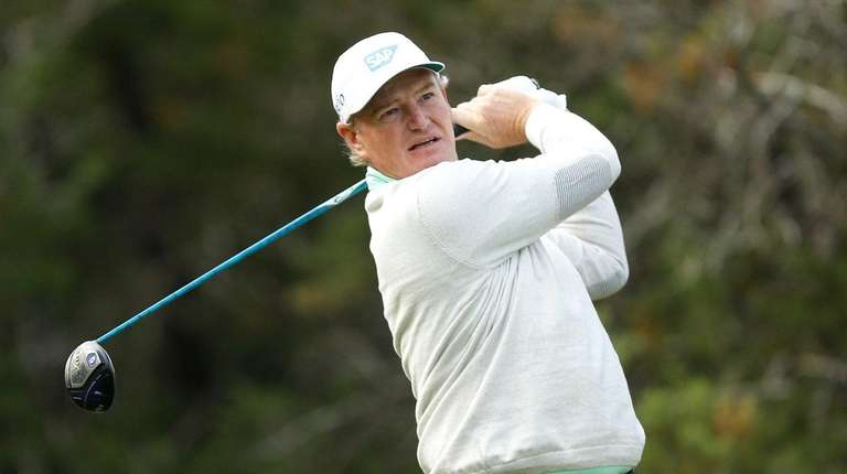 Ernie Els at the Valero Texas Open at