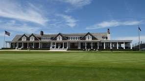 A view of the club house during preview