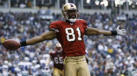 Terrell Owens ranks second to Jerry Rice with