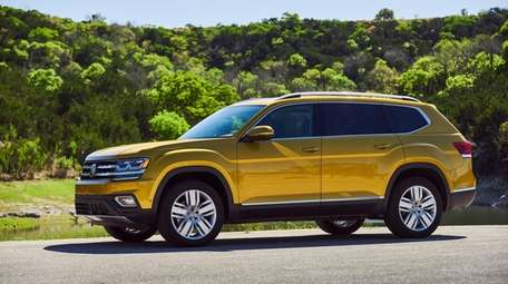 The Volkswagon Atlas was recognized by Parents Magazine