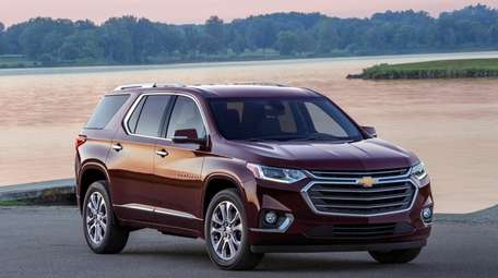The Chevrolet Traverse was recognized by Parents Magazine