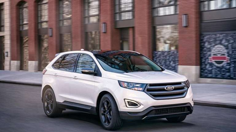 The Ford Edge was recognized by Parents Magazine