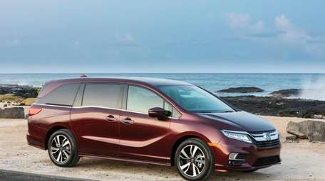 The Honda Odyssey was recognized by Parents Magazine