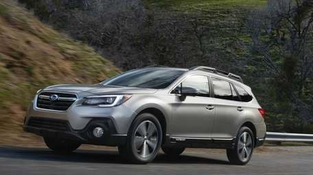 The Subaru Outback is among the nearly 400,000