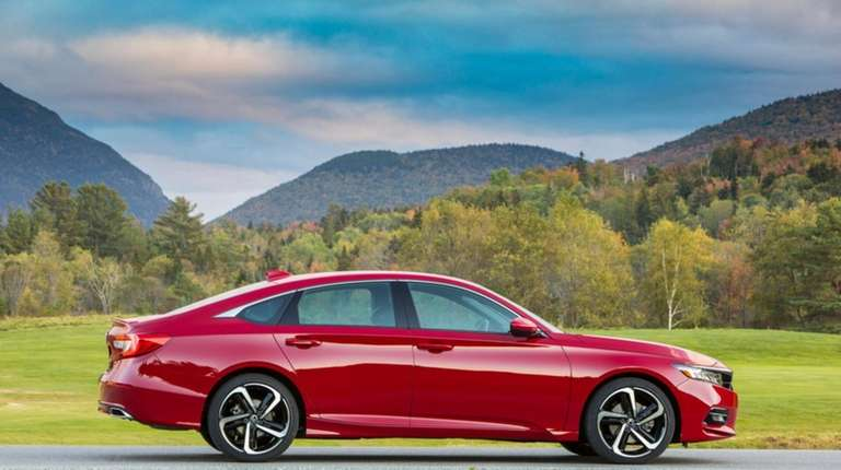 The Honda Accord was recognized by Parents Magazine