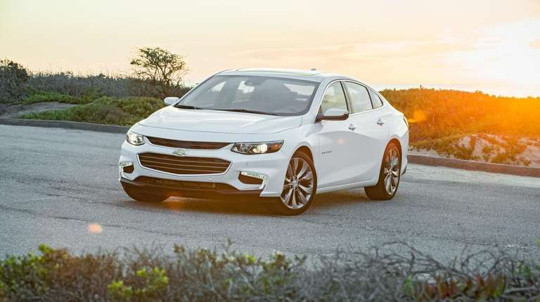 The Chevrolet Malibu was recognized by Parents Magazine