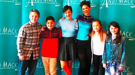 Kidsday reporters meet with two cast members of