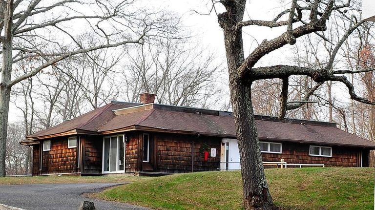 Shelter Island senior center, seen here in December