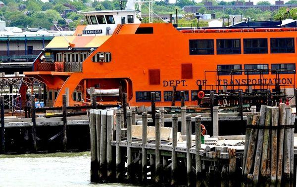 The Staten Island ferry Andrew J. Barberi is