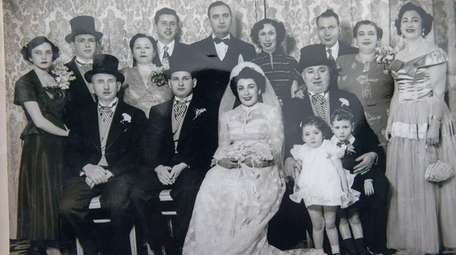 Handout photo of Helen and Martin Inwald's wedding