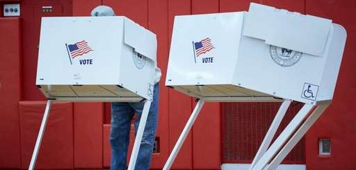 Voters in villages around Long Island go to