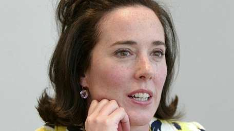 Kate Spade is seen May 13, 2004, during
