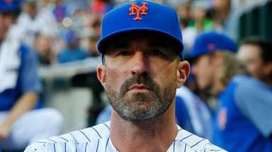 Manager Mickey Callaway of the New York Mets before