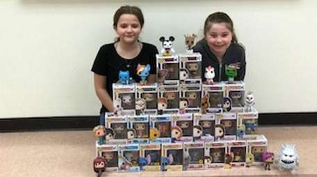 Kidsday reporters Elizabeth O'Carroll and Kayli Greco with