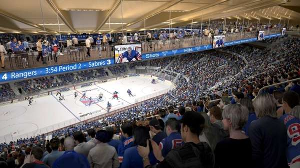 Best Major Msg Renovations To Include 39 Bridges 39 Newsday