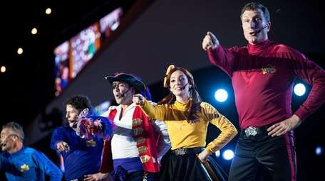 The Wiggles performing in Sydney, Australia, in 2015.