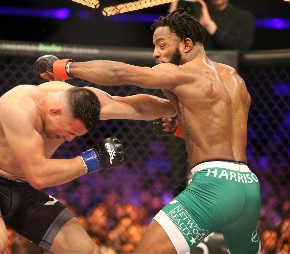 Andre Harrison defeated Jumabieke Tuerxun at PFL 1