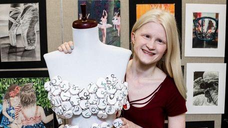 Elizabeth Schafer, a student of Massapequa High School,