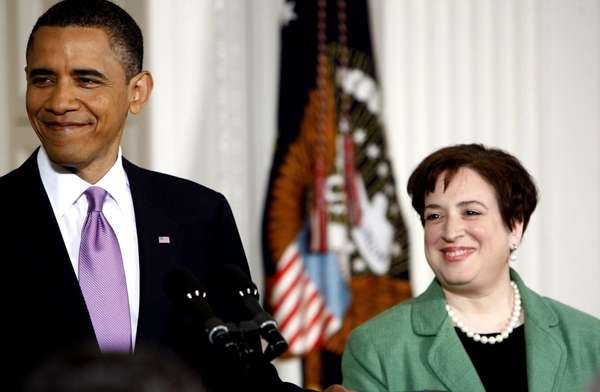 President Barack Obama introduces Solicitor General Elena Kagan,