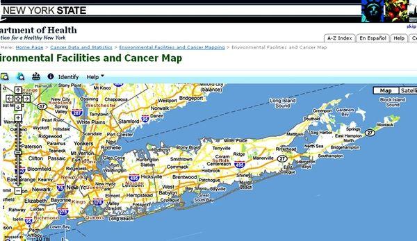 Environmental Facilities and Cancer Map