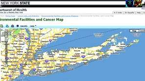Environmental Facilities and Cancer Map