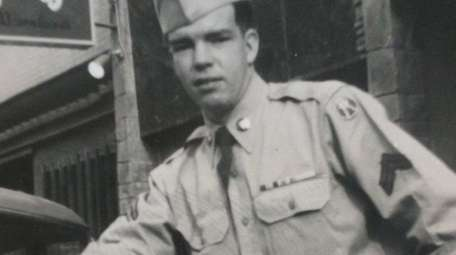Army Cpl. Harry Wirth in 1952. He served