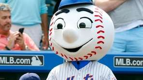 Mr. Met will be at Dadfest on Saturday