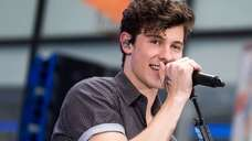 Shawn Mendes performs on NBC's Today show at