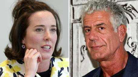 Kate Spade and Anthony Bourdain died by suicide
