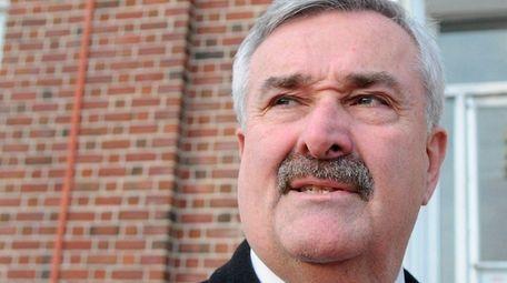 Suffolk OTB president Phil Nolan, seen here on