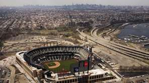 Citi Field, the New York Mets' baseball stadium,