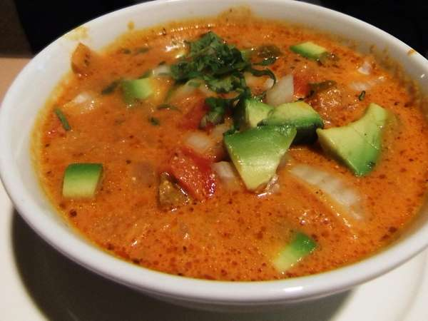 Tortilla soup at The Bravo's Family Restaurant in