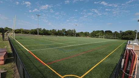 A large combined field used for football, soccer