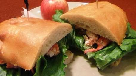 The lobster sandwich is available through Labor Day