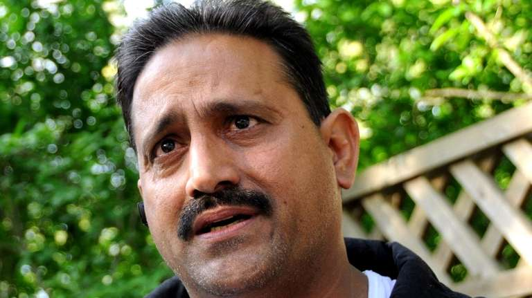 Mohammad Iqbal, 46, talks about the FBI raiding