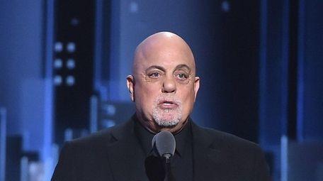 Billy Joel presents a special Tony Award to