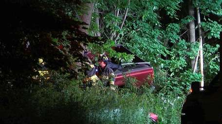 A driver died in a crash Sunday night