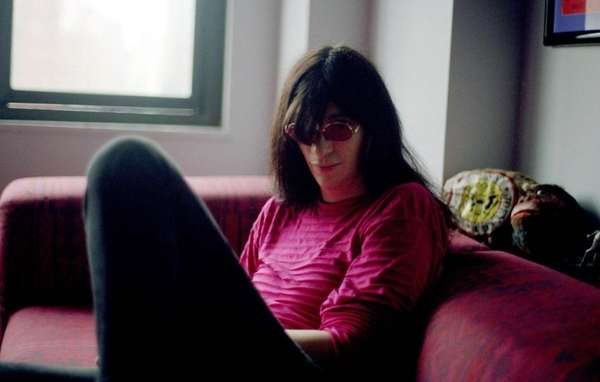 Undated photo of Joey Ramone, the singer for