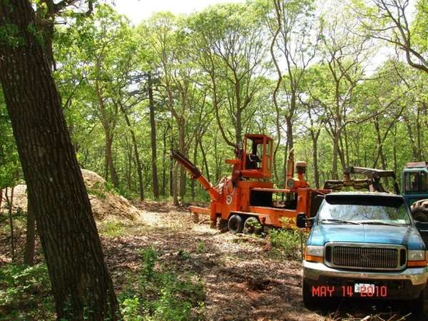 Workers begin clearing the way for a new