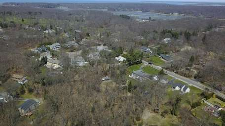 Property owners are seeking to build four homes