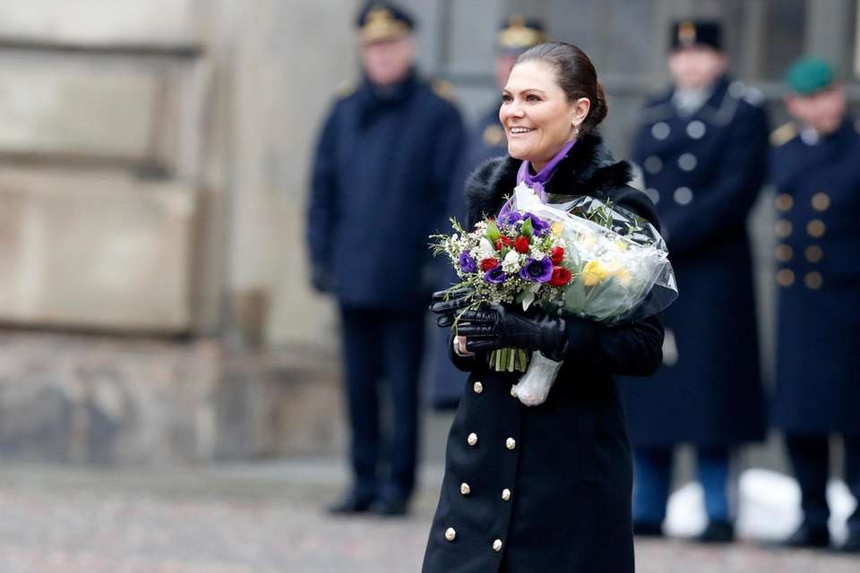 STOCKHOLM, SWEDEN - MARCH 12: Crown Princess Victoria